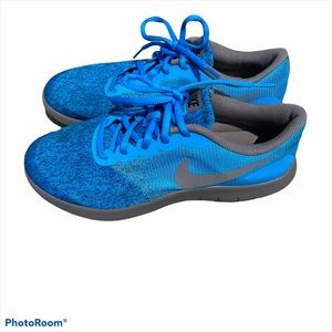 Nike Flex Contact running shoes blue W8.5/Y7